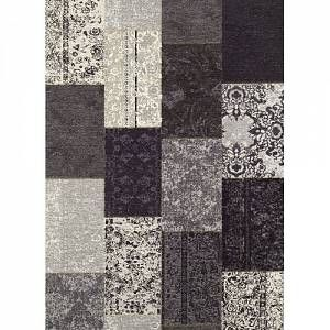 Mercury Row This Lincolnshire Black Rug features chenille with anti-skid, perfect to stylish decorating every corner of your house. Rug Size: Rectangle 156 x 230cm