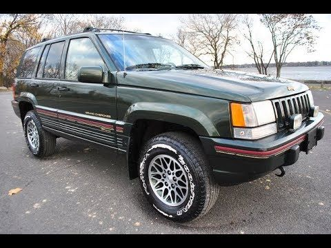 1995 Jeep Grand Cherokee Orvis Limited Edition Jeep Grand