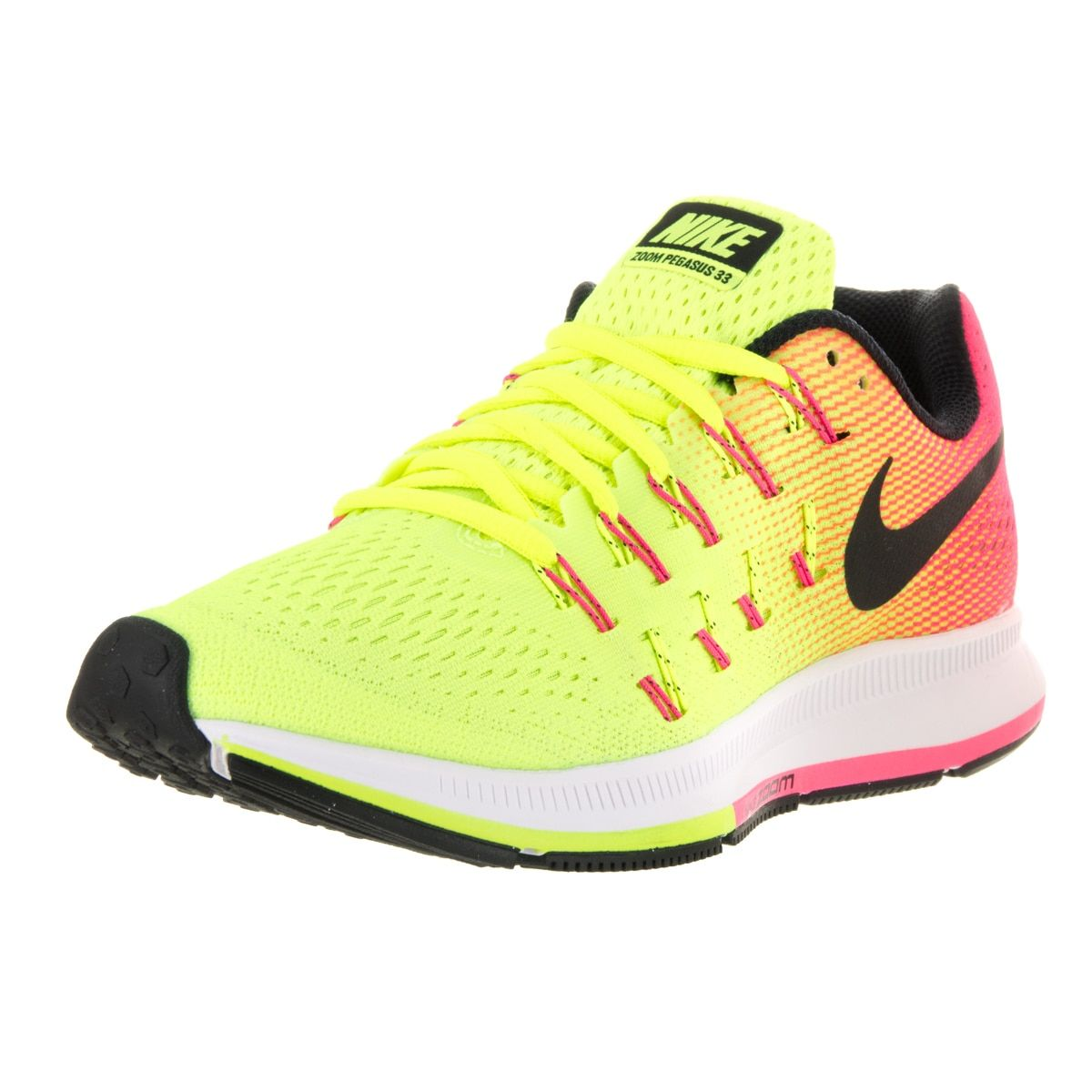Nike Herren Air Zoom Pegasus 33 Laufschuhe, weiß, 8.5 EU