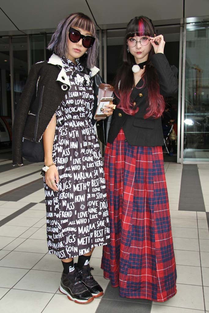 TAW They Are Wearing Tokyo Fashion Week 2014