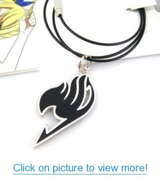 Neu Fairy Tail Anime Cosplay Emblem Halskette Symbol Logo Kette Necklace