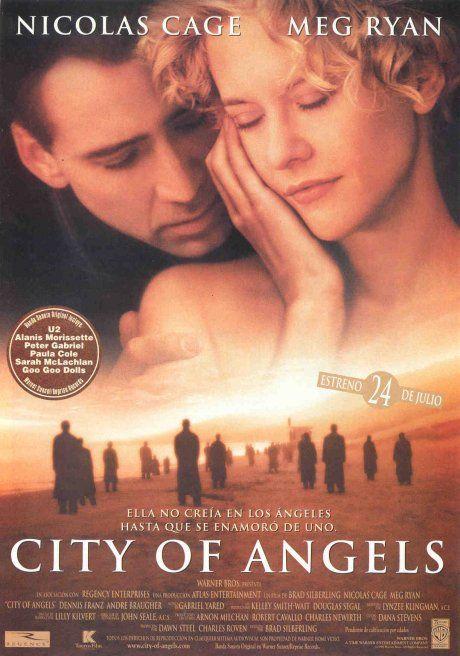 City Of Angels Ciudad De Angeles Peliculas De Amor Peliculas Peliculas Cine