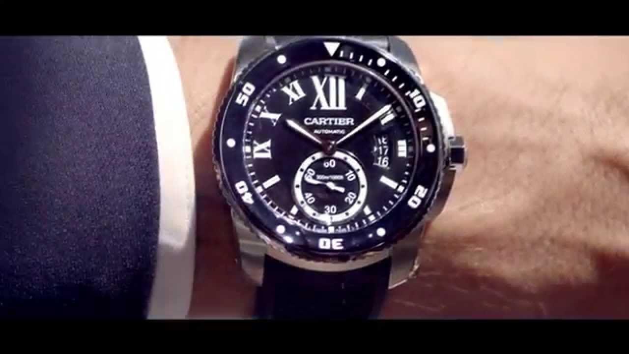Cartier - Calibre de Cartier Diver #watches
