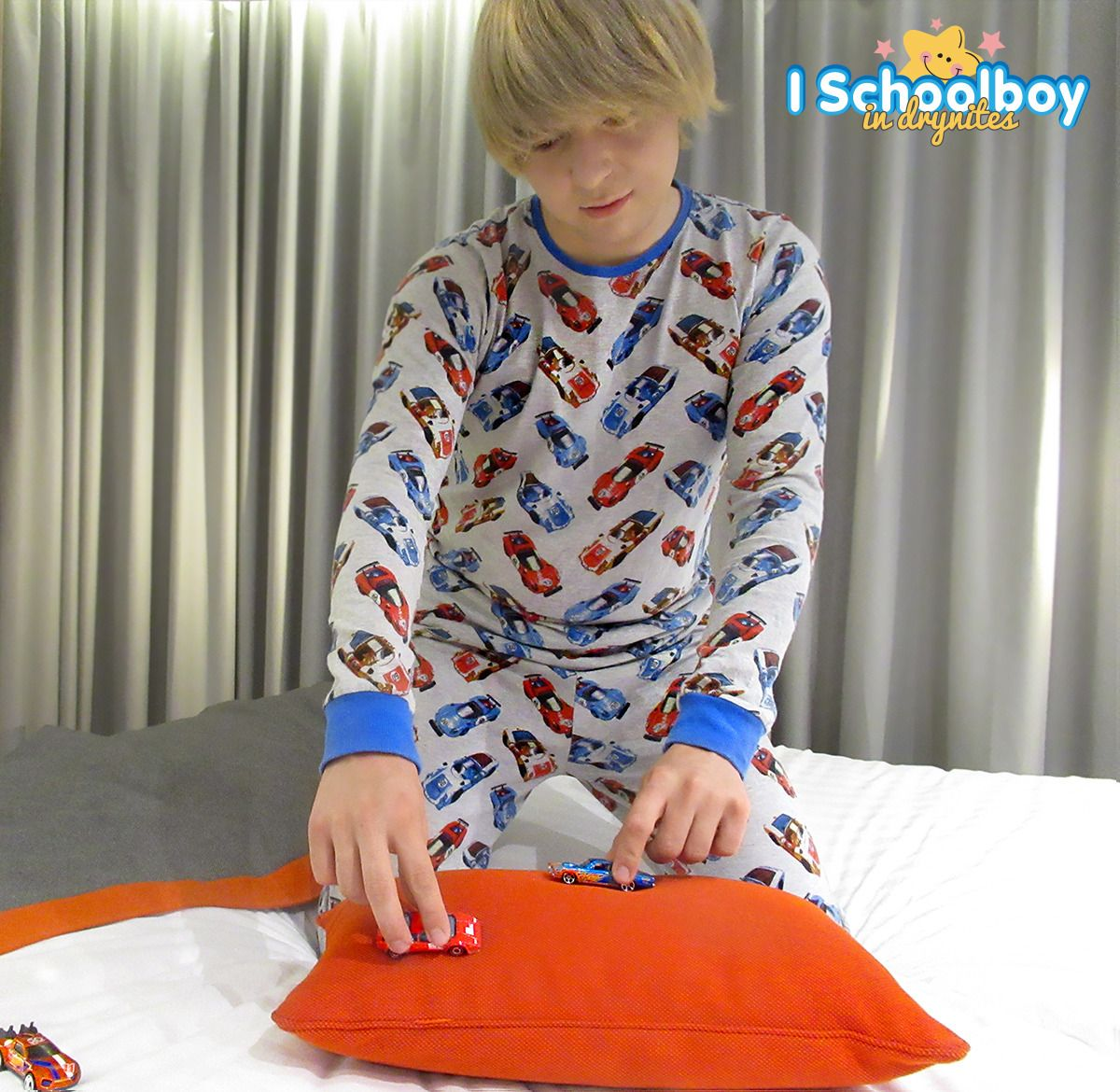 Young Teen Boy Wearing Diapers