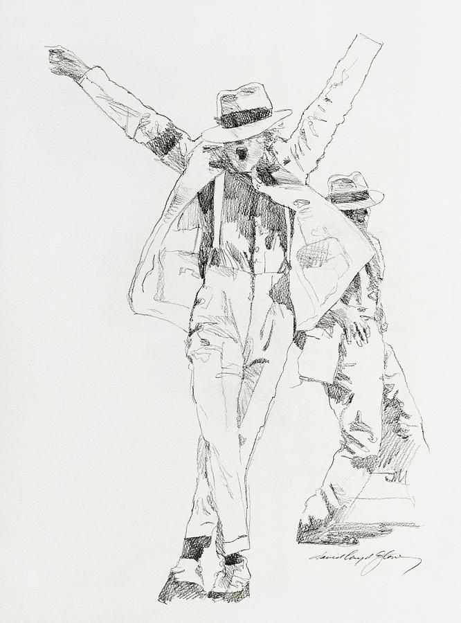 michael jackson sketch smooth - photo #1