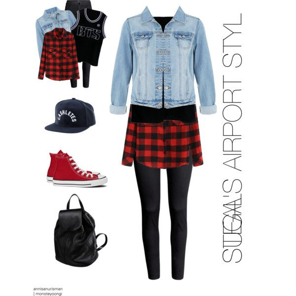 [ BTS STYLE STEAL ] SUGA #1 by annisanurisman on Polyvore featuring polyvore fashion style Hu0026M ...