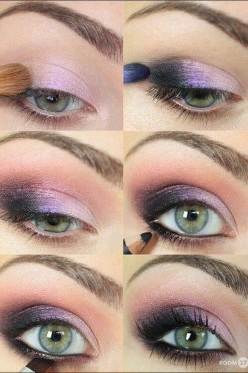 12 Amazing Makeup Tutorials For Green Eyes Nails Pinterest