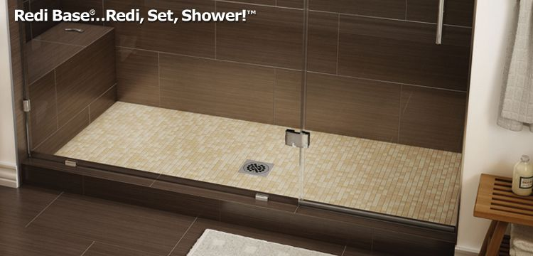 Redi Base Shower Pans Bathroom Shower Design Shower Pan