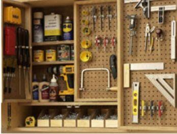 Tout ranger dans l 39 atelier solution ranger et outils - Astuce rangement garage ...