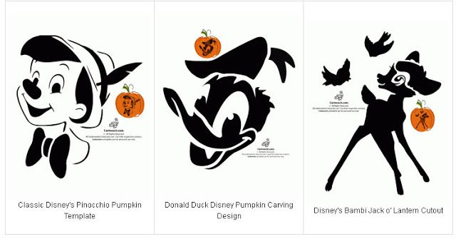 Free Printable Disney stencils (pumpkin carving or t-shirt designs ...