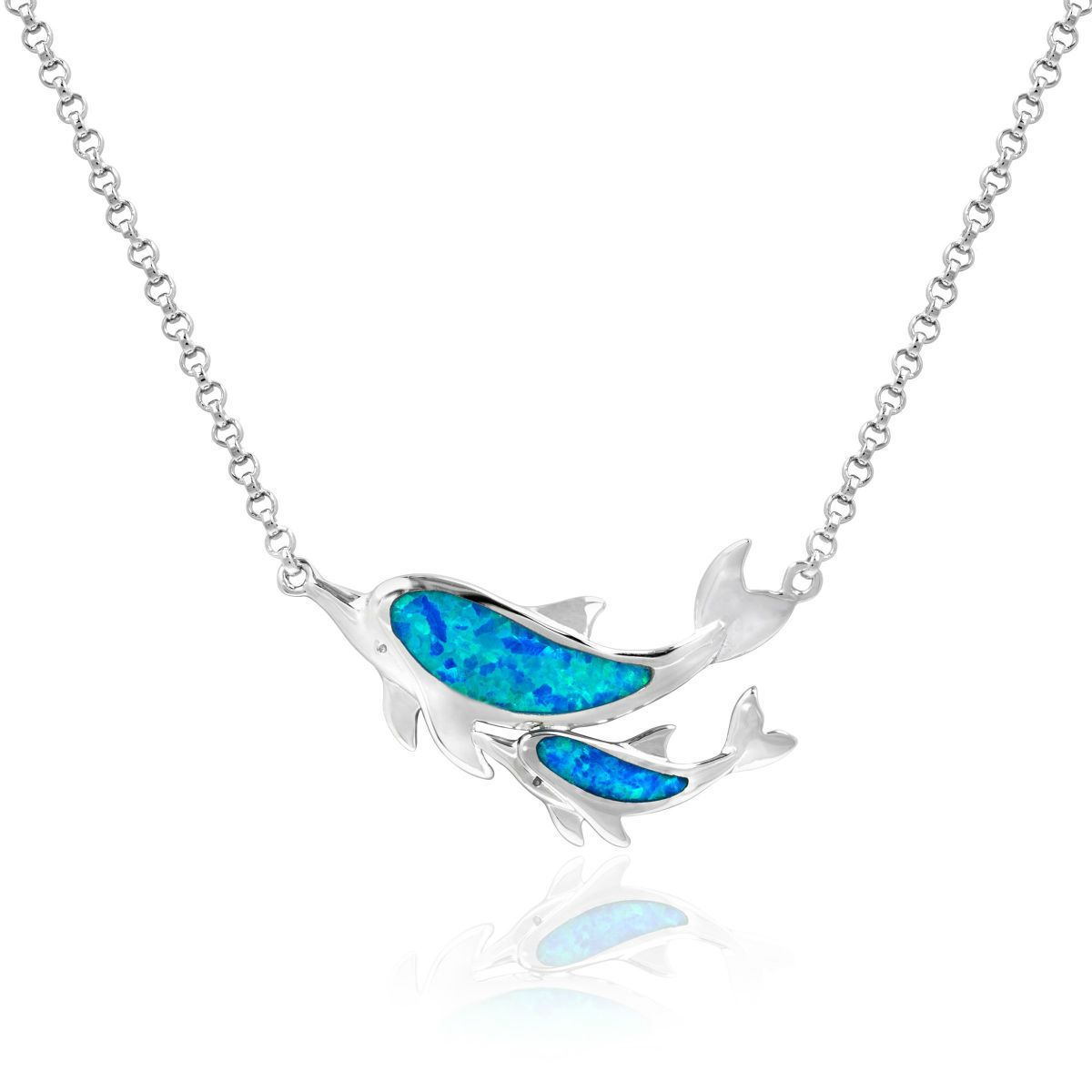 women necklace website blue sterling products com lulugem silver shop opal pendant for allah