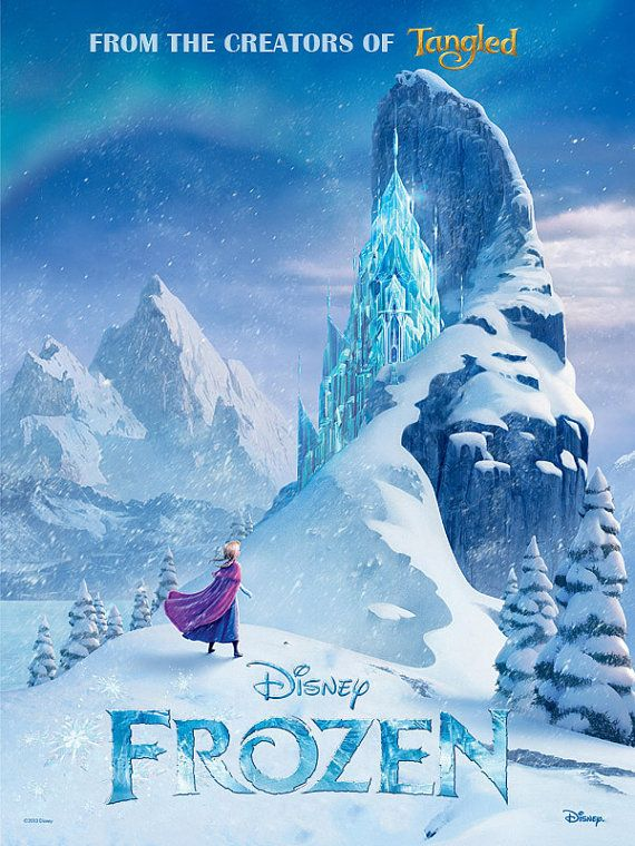 Hey, I found this really awesome Etsy listing at https://www.etsy.com/listing/179403543/frozen-movie-poster-frozen-disney