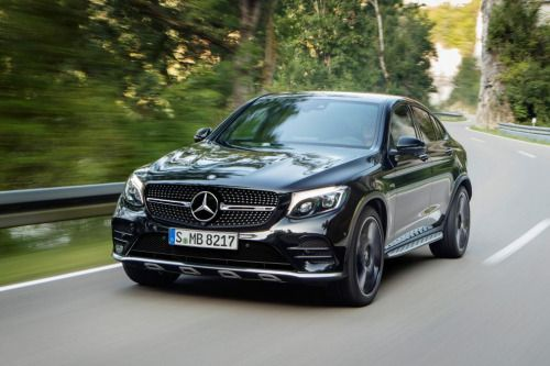 New Mercedes AMG GLC 43 Coupe revealed pictures