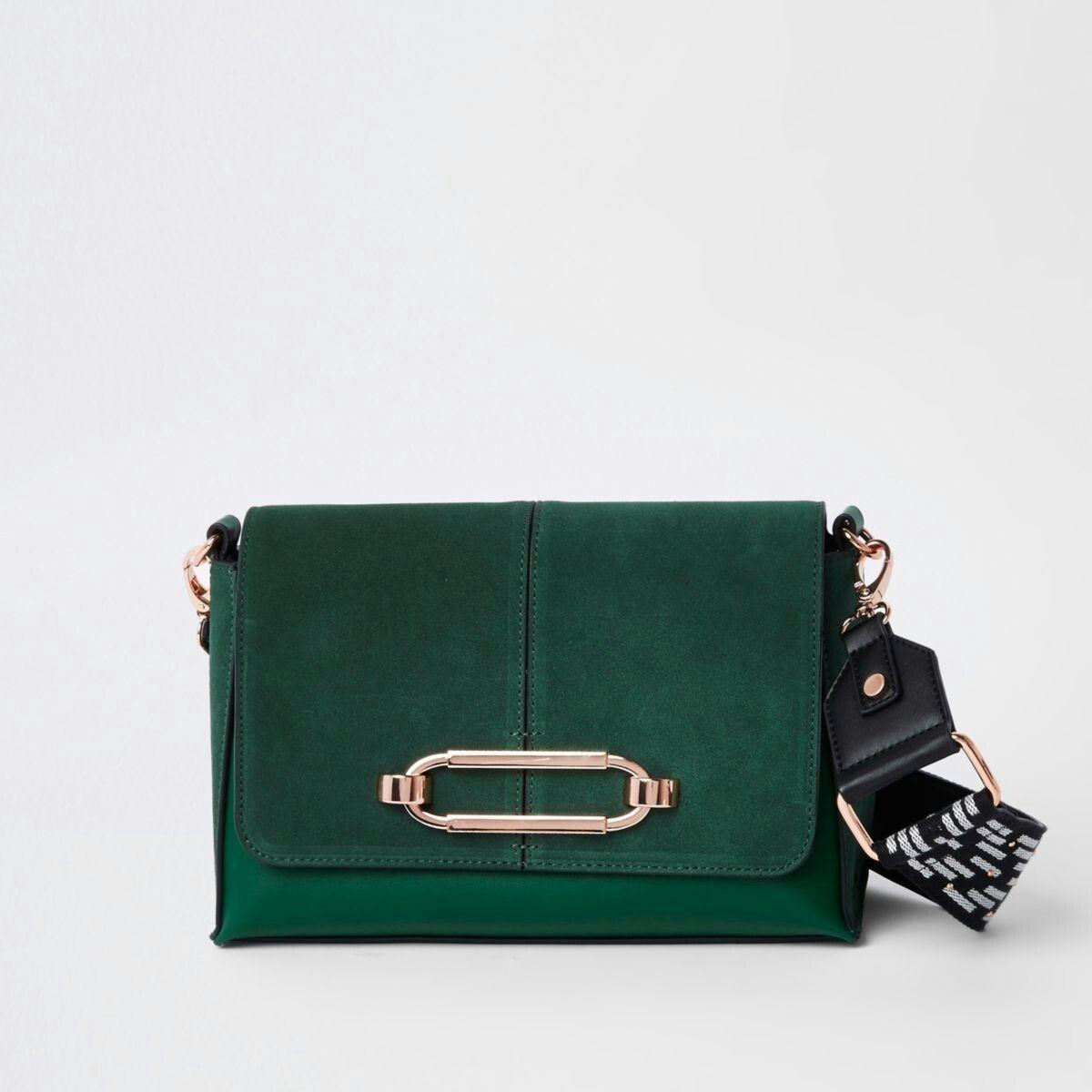 4f330dd88a4e Green thick strap cross body bag #thickstrapcrossbodybag | Women ...
