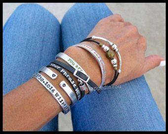 Infinity Circle Cord Bracelet Small Large Eternity Karma