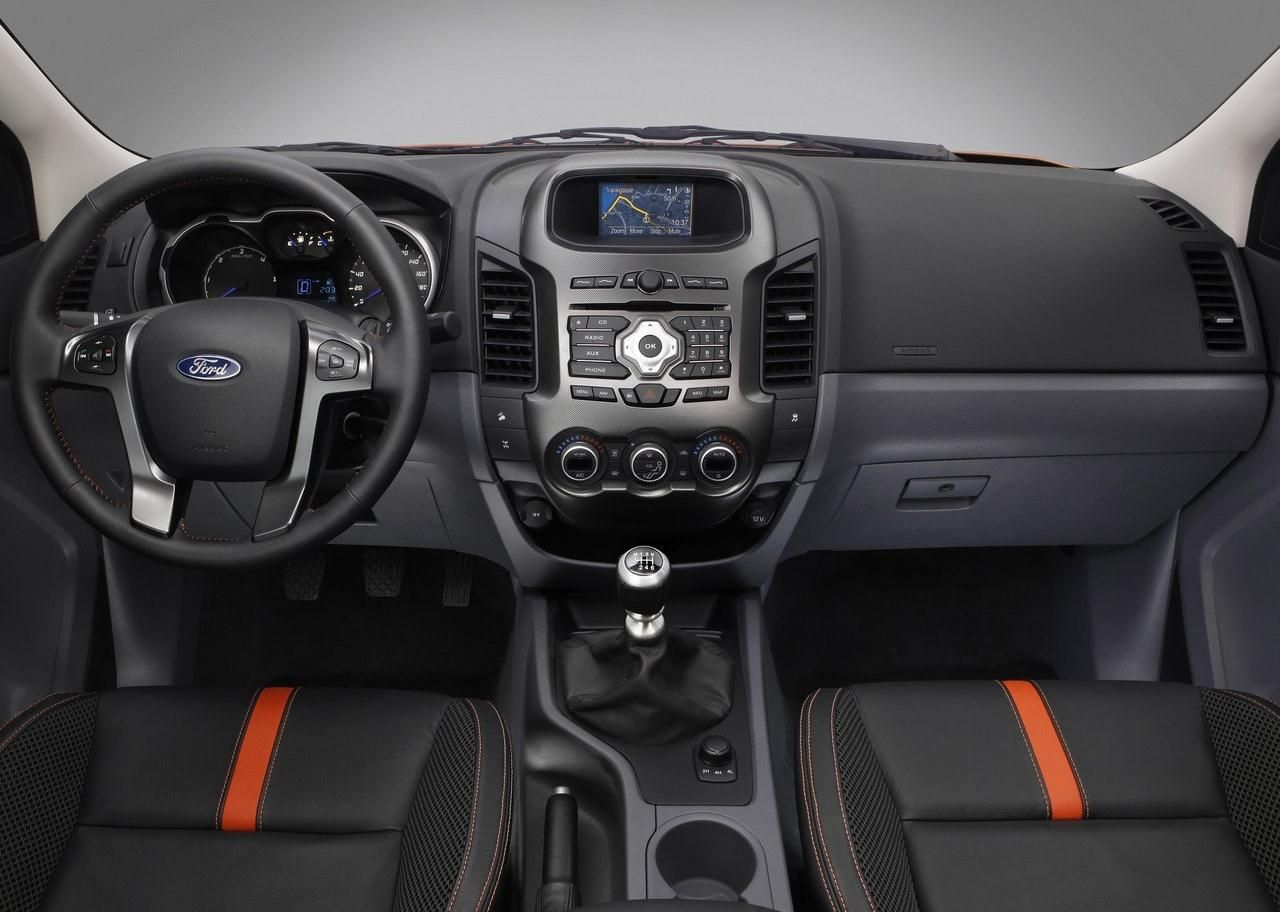 2014 Ford Ranger Interior