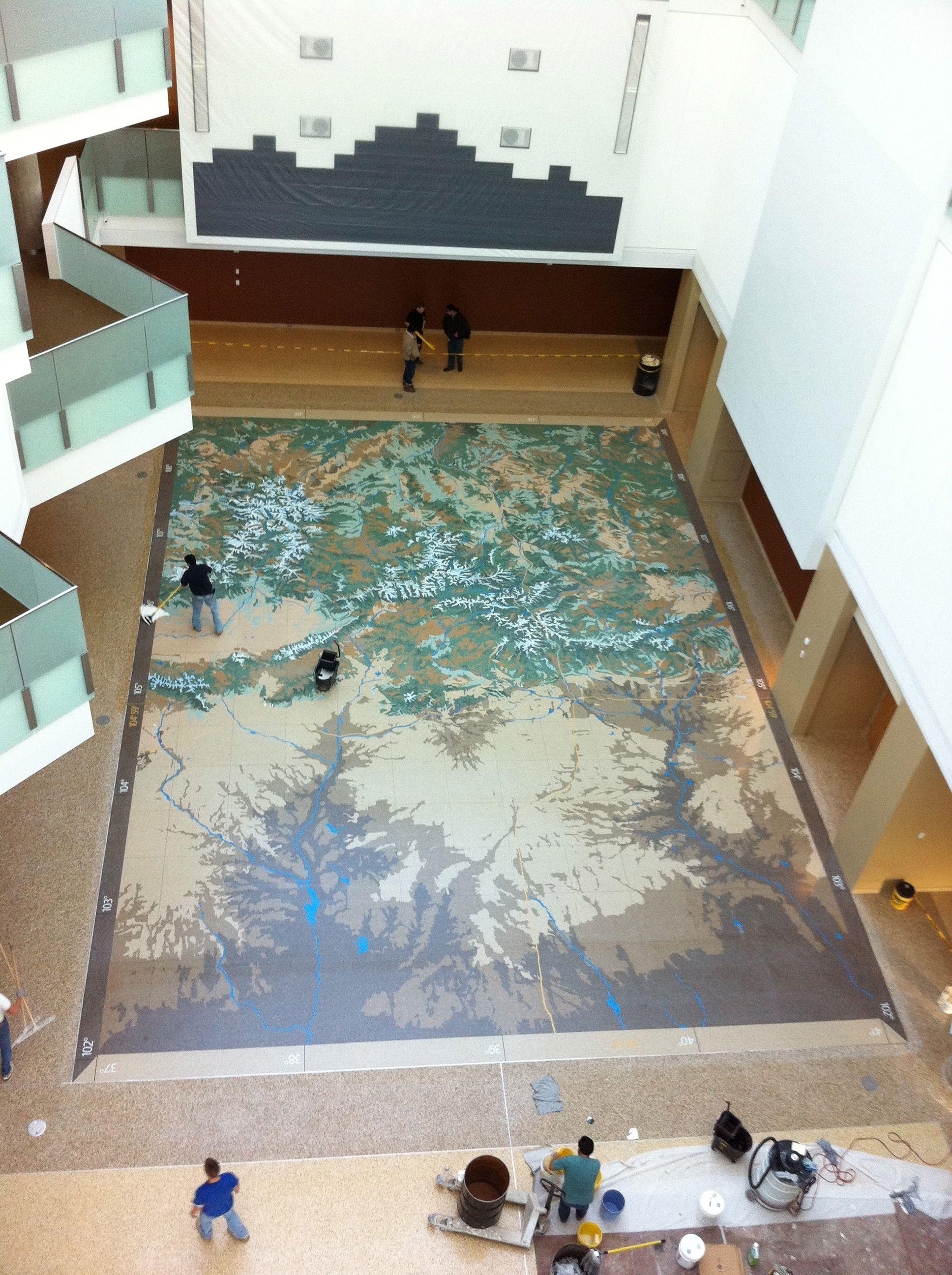Terrazzo Marble Supply Colorado History Museum Upper