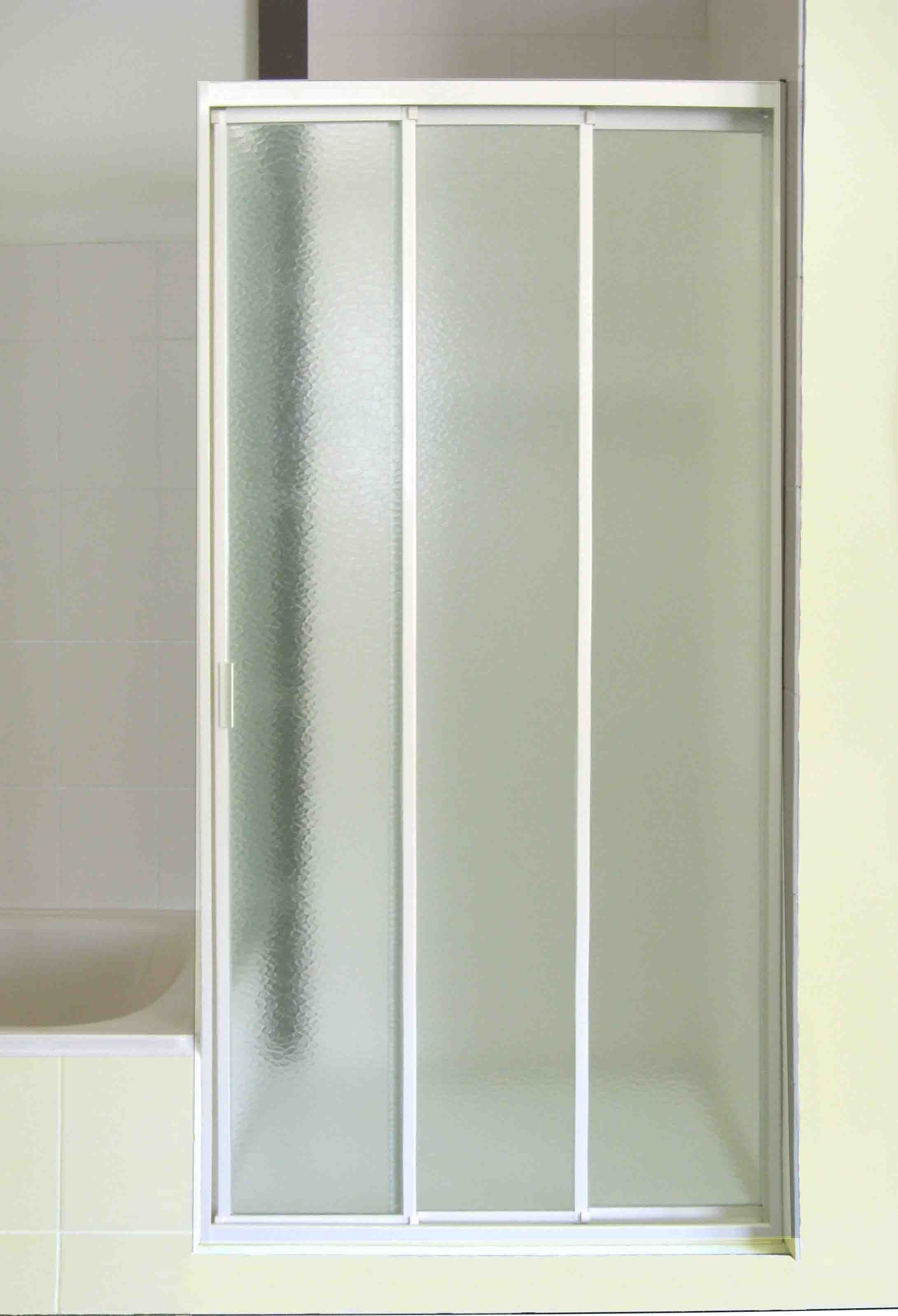 sliding shower door plastic clips
