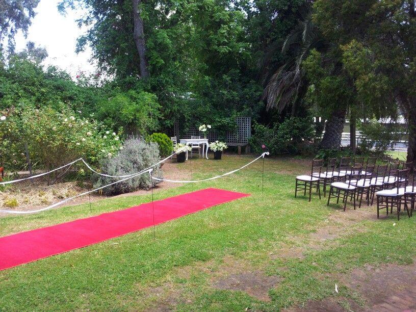 Woodbridge House Wedding Ceremony Overlooking The Swan River In