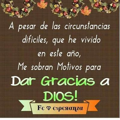 Frases Bonitas Para Facebook Dar Gracias A Dios Por Este Año Dar Gracias A Dios Feliz Día De Acción De Gracias Frases De Dar Gracias