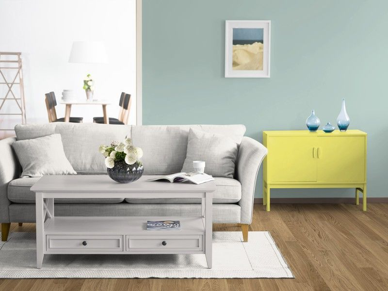 Zeit für ein neues KOLORAT-Zimmer, Zeit zu streichen! Was sagt ihr - wohnzimmer in grun und braun