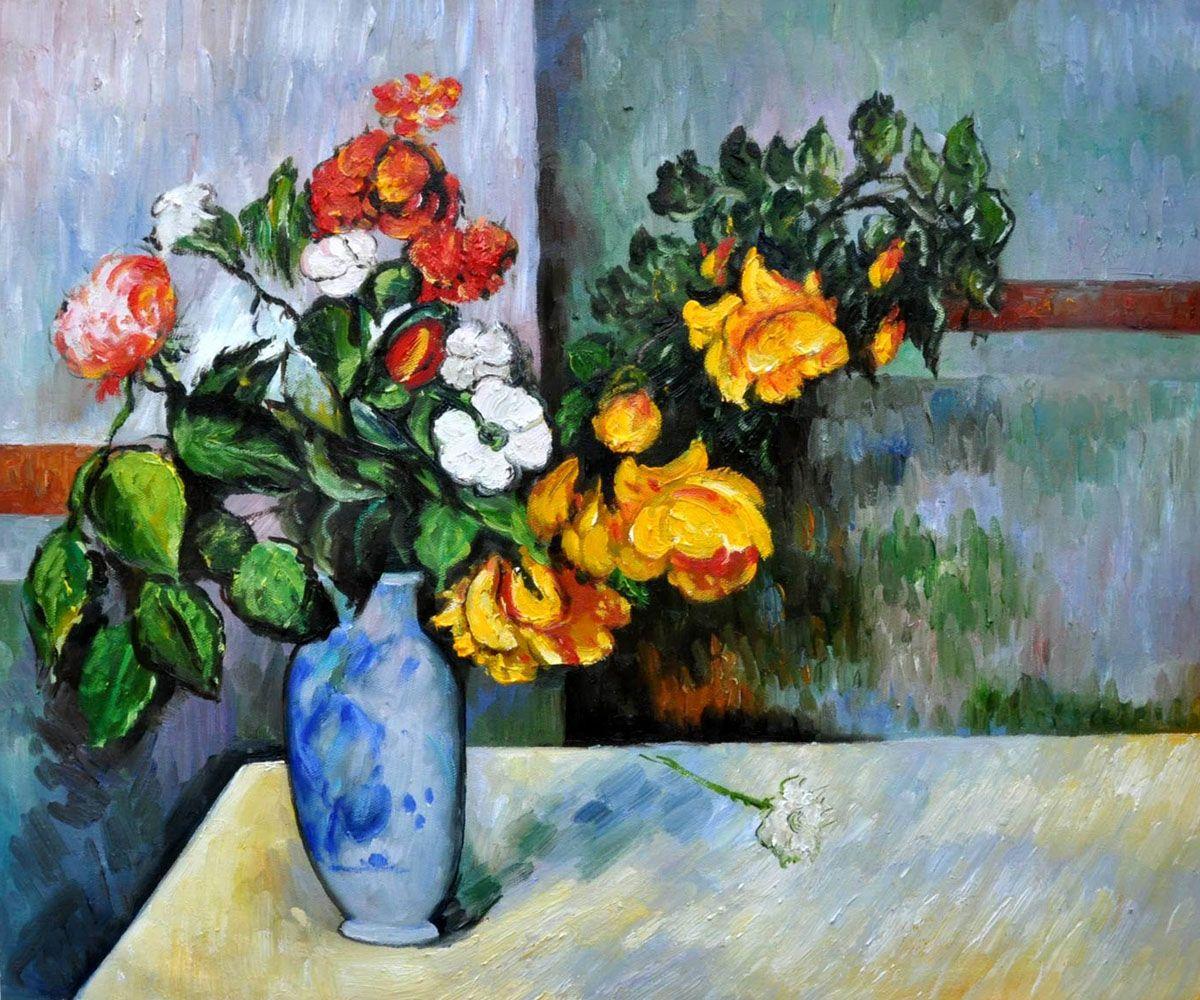 Cezanne flowers