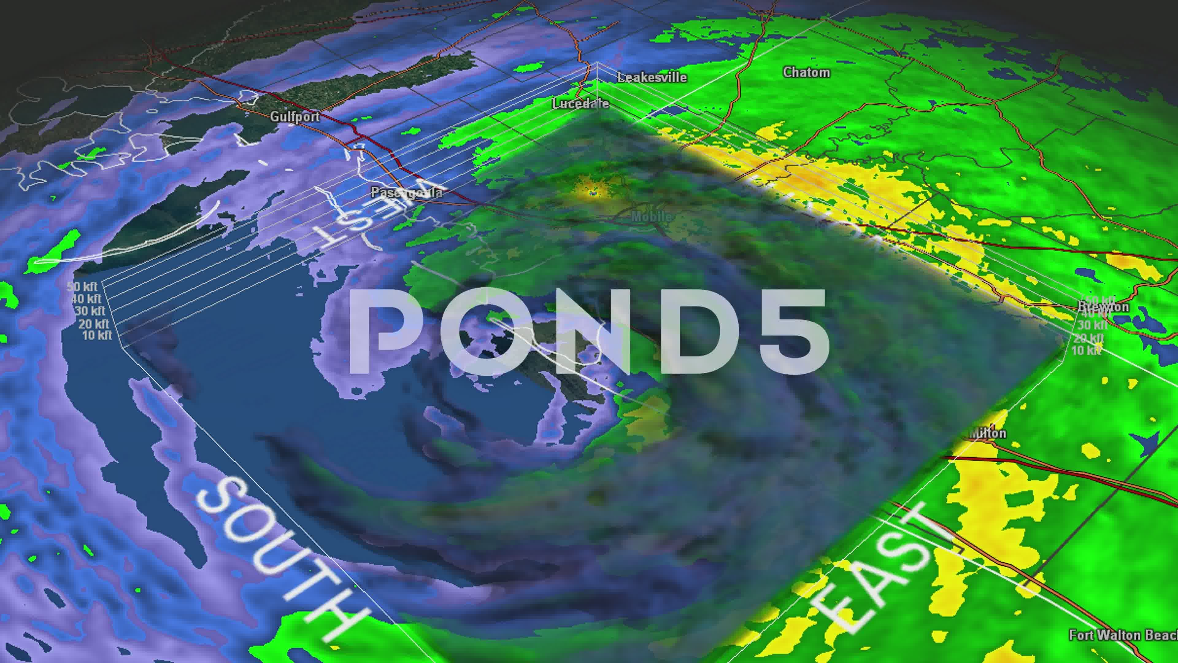 Hurricane Ivan Eye 3d Radar Stock Footage Ad Eye Ivan Hurricane Footage Hurricane Ivan Hurricane Radar