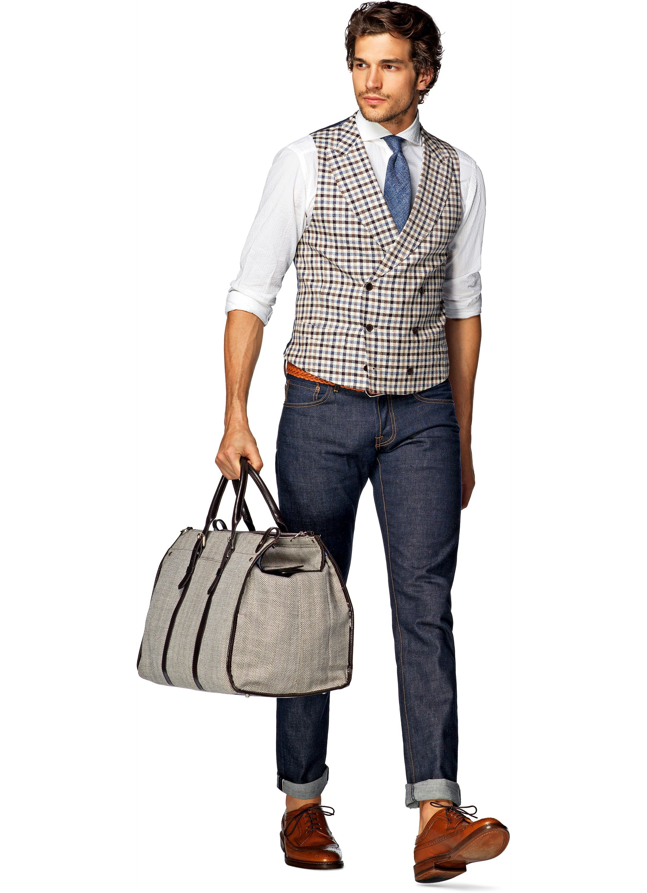 Fonkelnieuw Light Brown Waistcoat W150105i   Suitsupply Online Store   Things DH-81