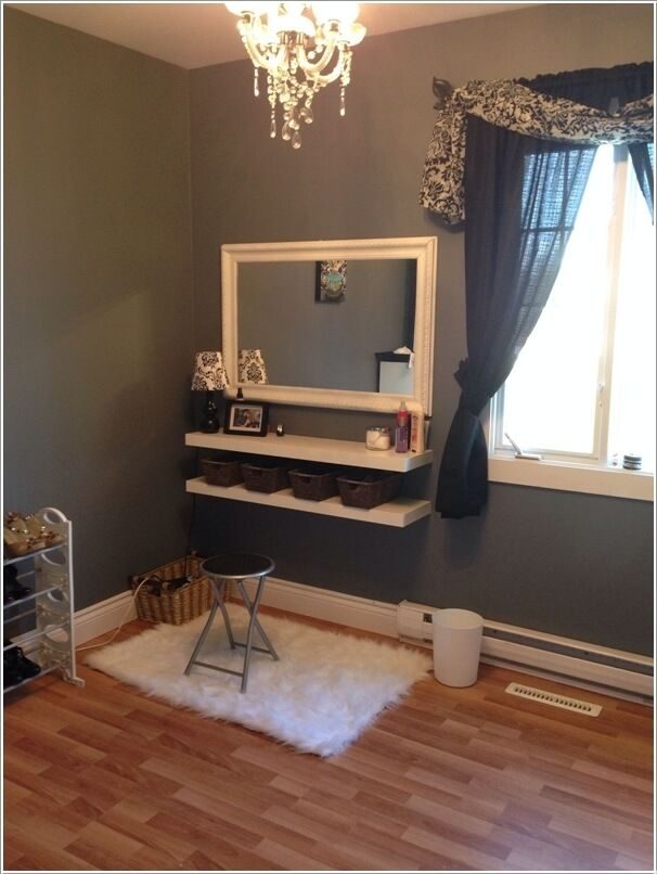 Photo Gallery For Photographers  Cool DIY Makeup Vanity Table Ideas