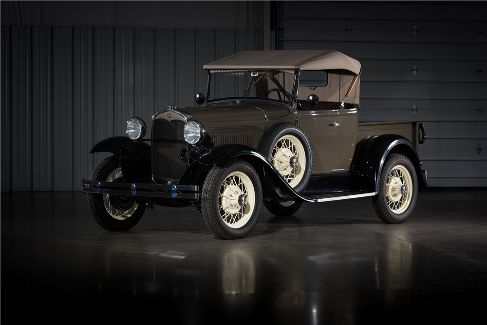1931 FORD MODEL A ROADSTER PICKUP - Front 3/4 - 197189 | Beautiful ...