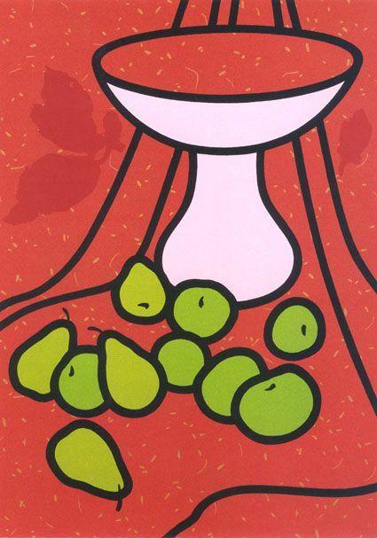 Image result for british pop art glass of wine