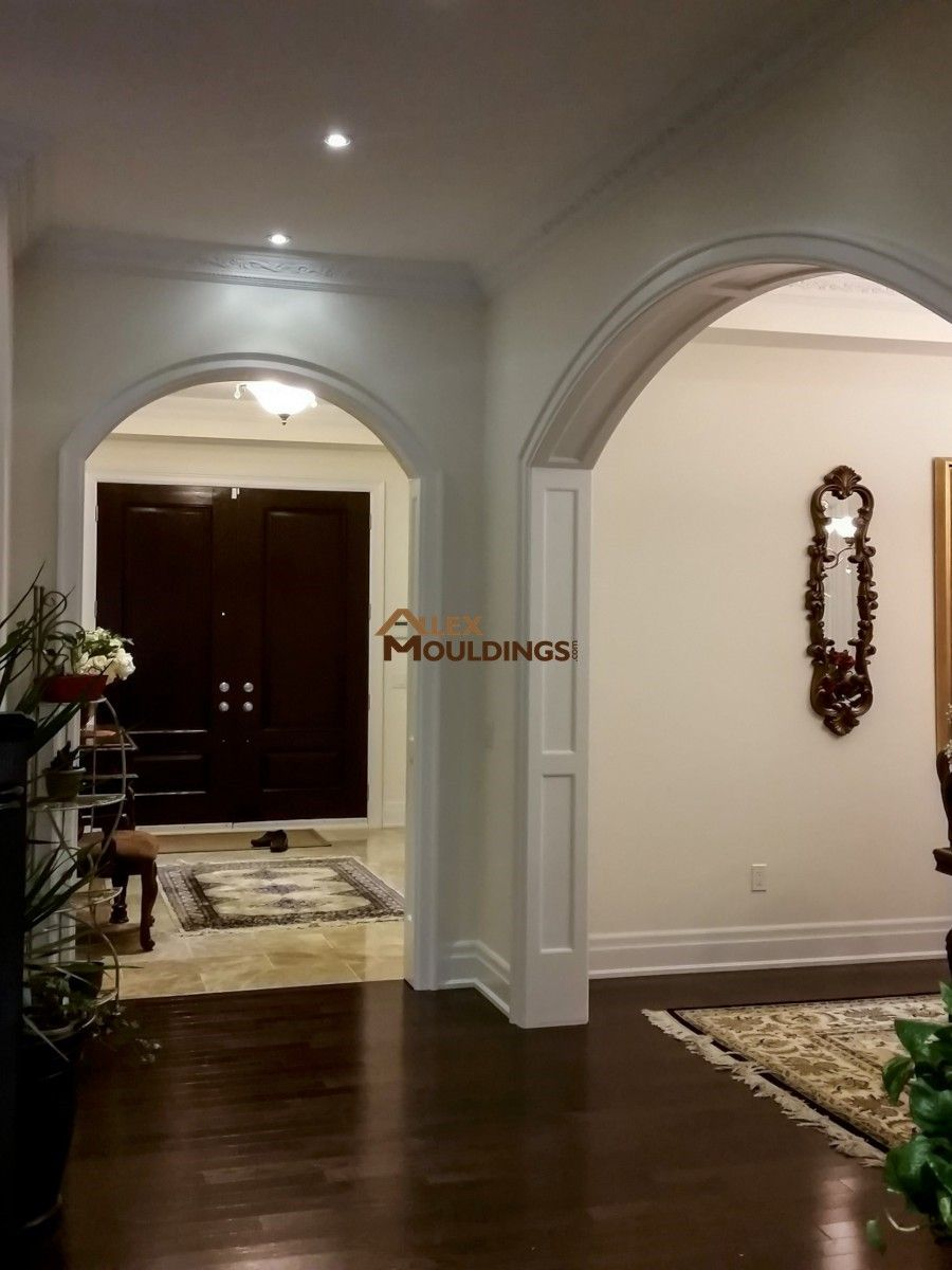 Entryway Arches Design Arched Interior Doors Archways In Homes Archway Molding