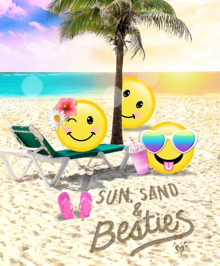 Summer Makes Us So Emoji Nal Math Emoji Wallpaper