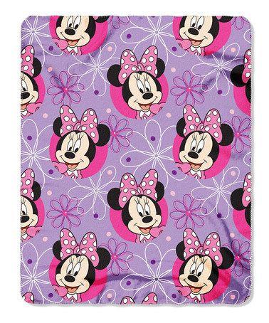 Minnie Mouse Throw & Pillow Set