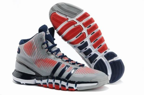Silver Blue Red Mens Adidas CrazyQuick Basketball Shoes On Sale 26312 2c5db5d0e
