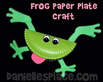 Frog Paper Plate Bible Craft for Sunday School .daniellesplace.com & Frog Paper Plate Bible Craft for Sunday School www.daniellesplace ...