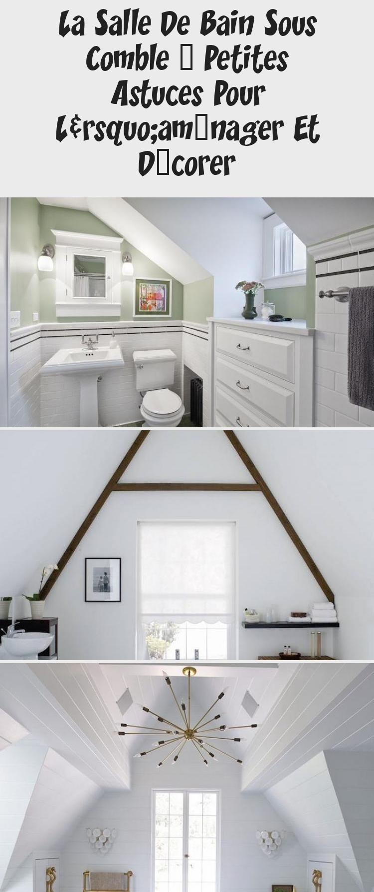 Carrelage Salle De Bain Gris Clair la salle de bain sous comble – petites astuces pour l