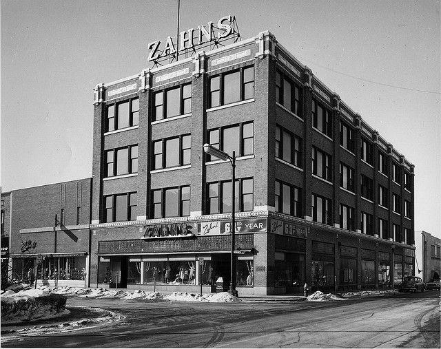 Zahn S Department Store 1961 Racine Wisconsin Wisconsin Racine Racine Wisconsin