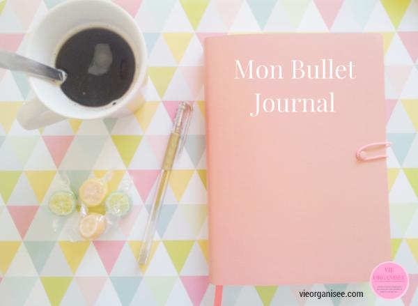 bullet journal organiseur
