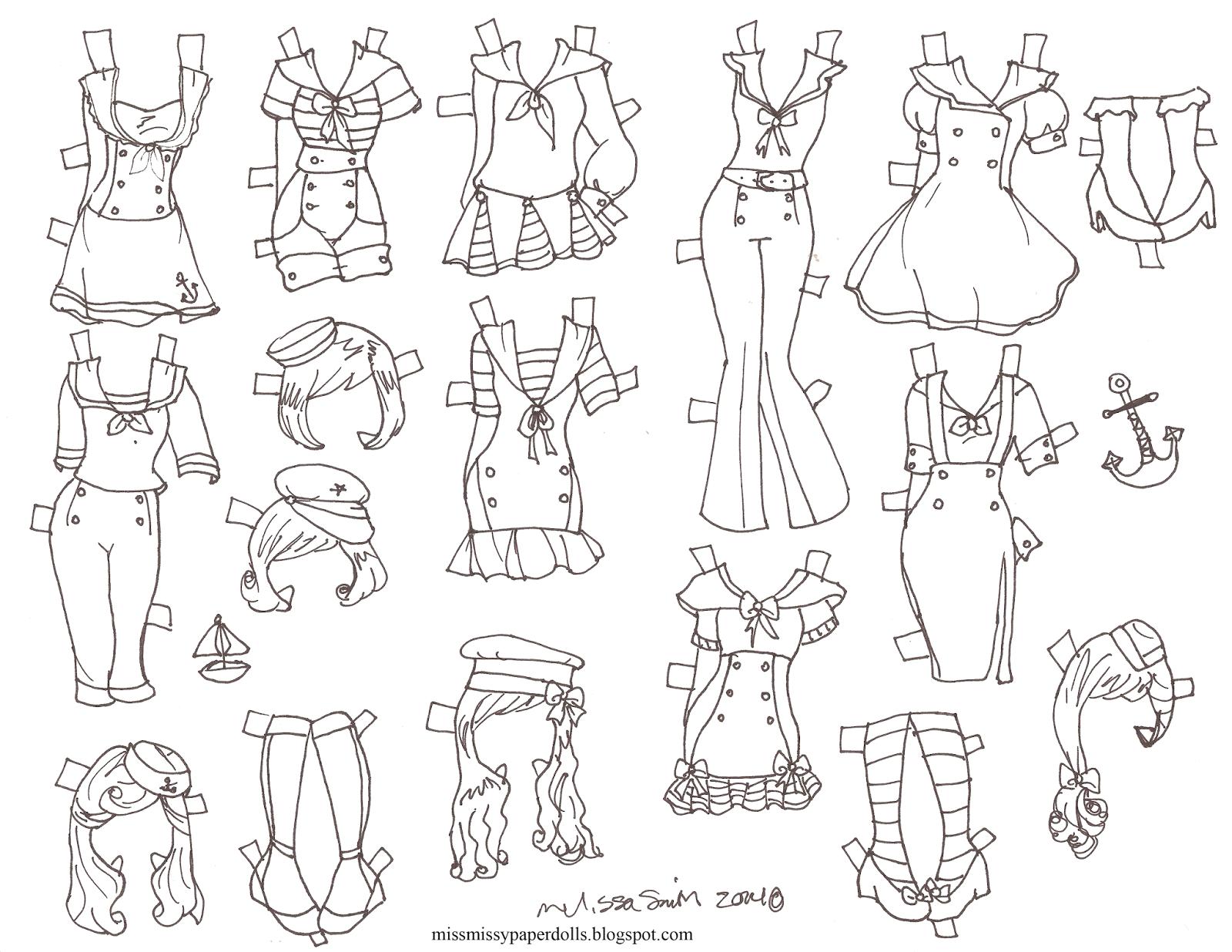 Halloween paper Doll 2014 | Muñecas recortables y Muñecas