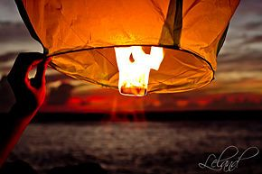 Make Sky Lanterns - wikiHow. Just might be the cutest date ever.