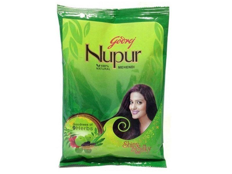 7621871c9 Godrej Nupur Mehndi Henna Heena Hair Color Amla 100% Natural- 50Gm Free  Shipping