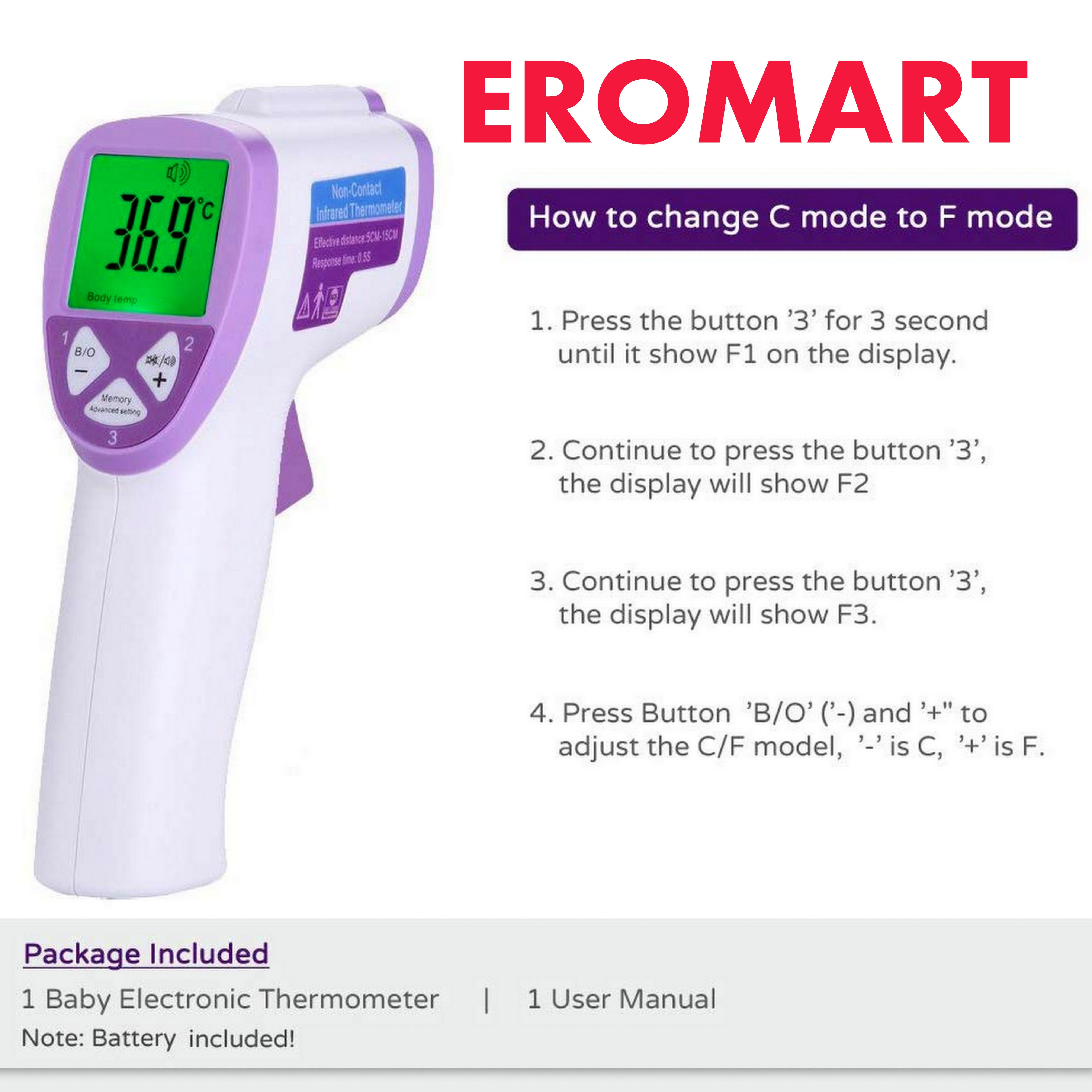 Pin on Infrared Thermometer for Best Prices in India