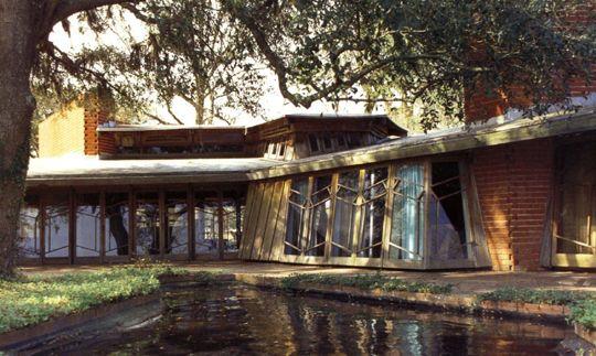 Auldbrass Plantation / Beaufort County, Yemassee, South Carolina / 1940-51 / Frank Lloyd Wright