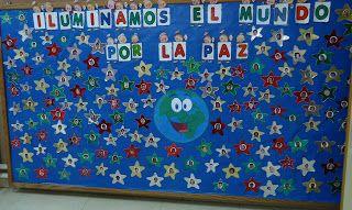 Dueños De Estrellas Día De La Paz Dia De La Paz Mural De La Paz Paz