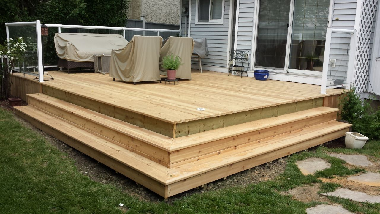 Best Deck Box Stairs Images Deck Stairs Deck Backyard Design 400 x 300