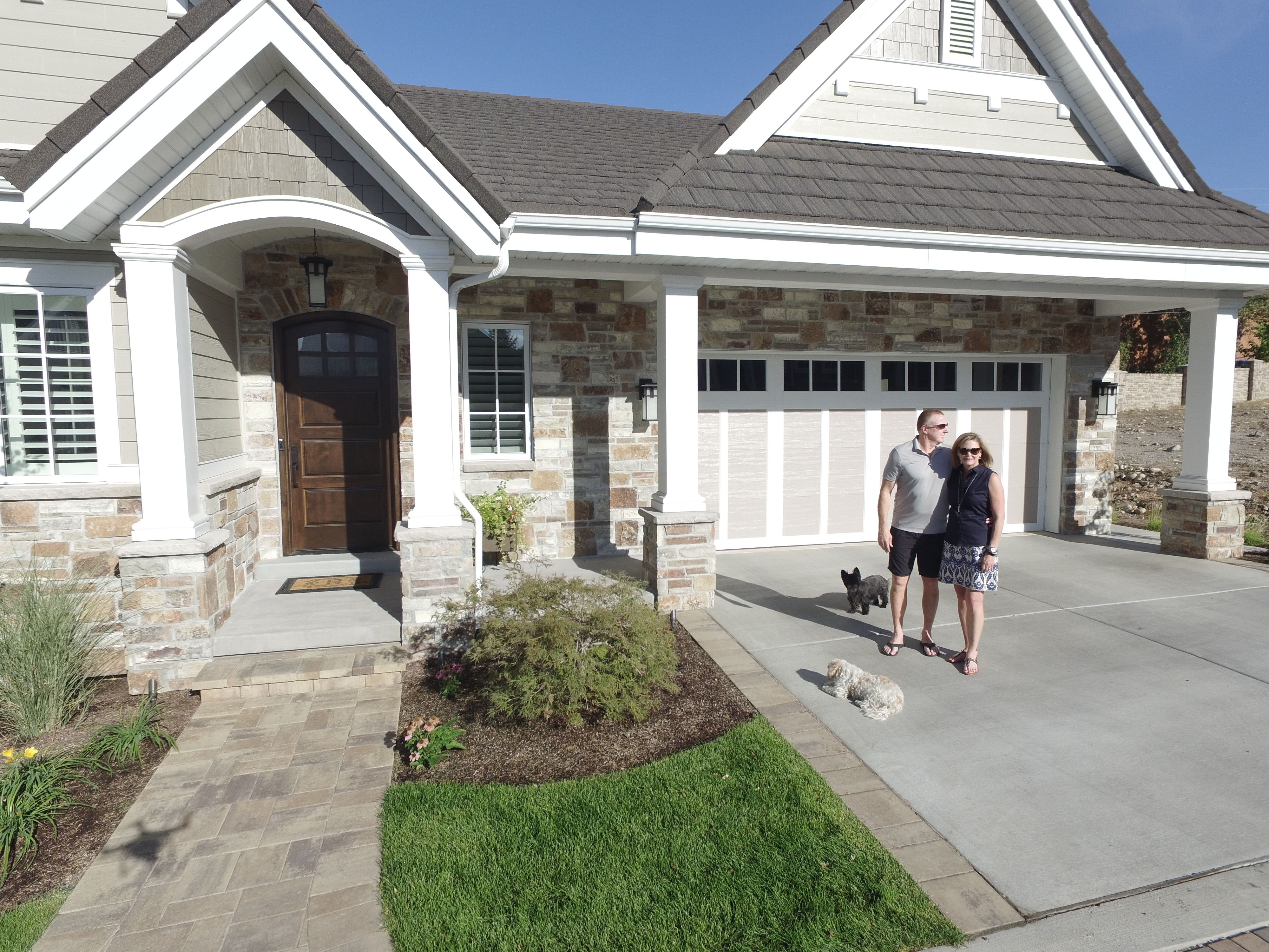 These homeowners love their new Gerard metal roof! (With ...