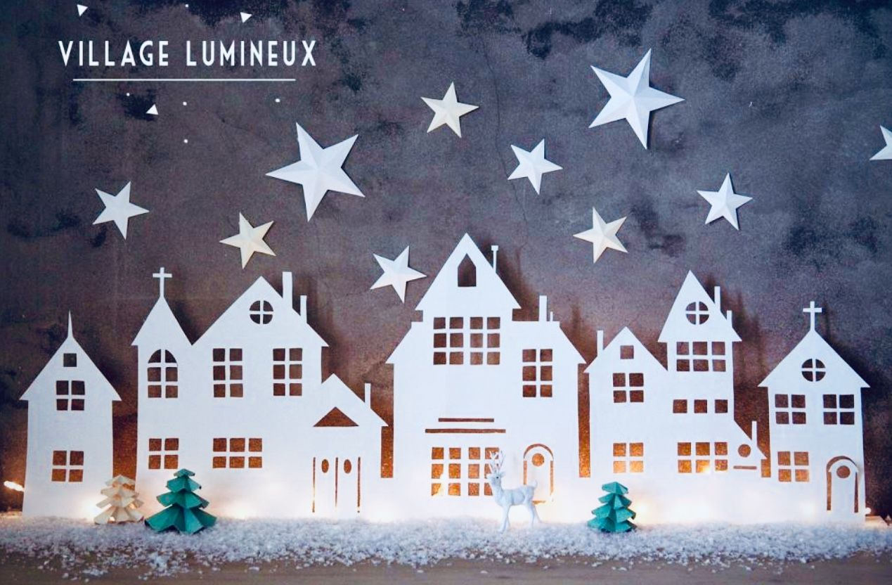 Pin Von Annie N Auf All For Christmas Diy More Dekoration Weihnachten Basteln Fensterbilder Weihnachten Basteln Weihnachtsdorf