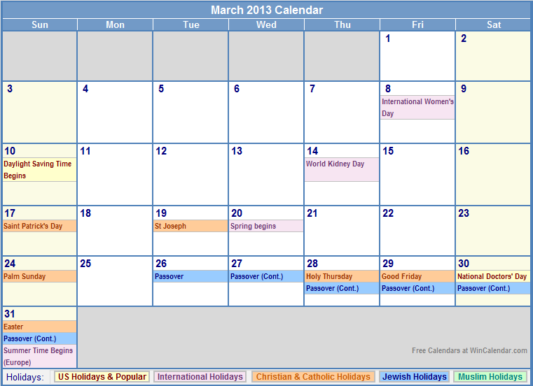 Free Blank Calendar For The Front Of The Binder To Keep Track Of
