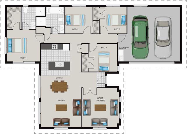 House Design Island Express House Plans House Floor Plans House Design
